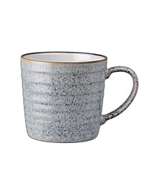 Studio Craft Grey Ridged Mug