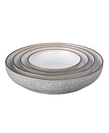 Studio Craft Grey 4 Piece Nesting Bowl Set