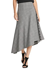 Logo-Trim Asymmetrical Skirt