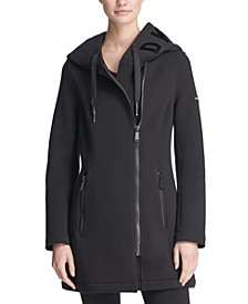 Sport Asymmetrical Hooded Scuba Jacket