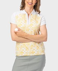 Nancy Lopez Race Short Sleeve Polo Plus