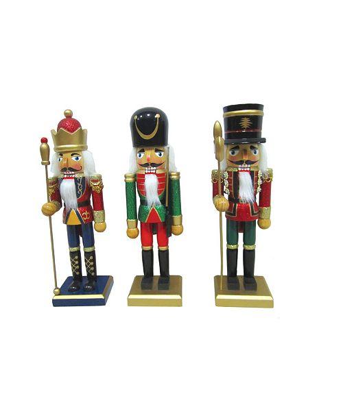 "Santa's Workshop 3 Piece 10"" King and Royal Guards"
