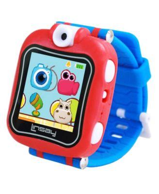 "Linsay 1.5"" Kids Smart Watch Selfie Camera with HD 90"