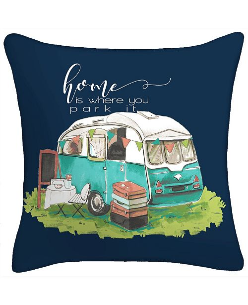 Jordan Manufacturing Life Is Where You Park It Toss Pillow