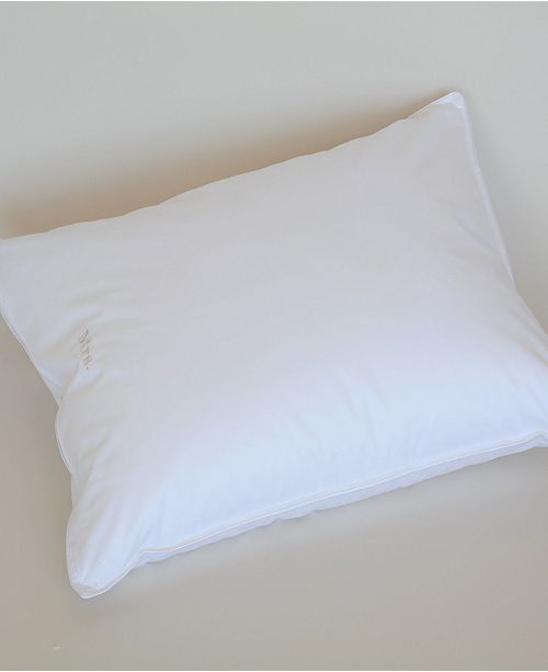 The Pillow Bar Down Alternative Standard Back Sleeper Pillow