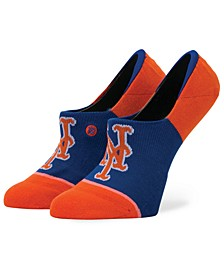 Women's New York Mets Invisible No Show Socks
