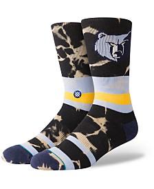 Stance Memphis Grizzlies Acid Wash Crew Socks