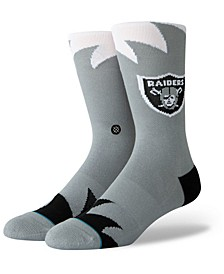 Oakland Raiders Shark Tooth Socks