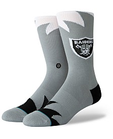 Stance Oakland Raiders Shark Tooth Socks