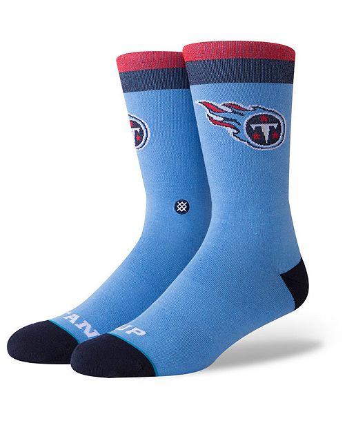 Stance Tennessee Titans Spirit Strip Crew Socks