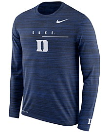 Men's Duke Blue Devils Velocity Travel Long Sleeve T-Shirt