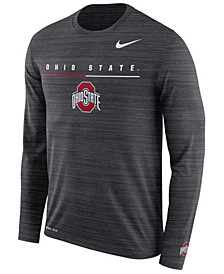 Men's Ohio State Buckeyes Velocity Travel Long Sleeve T-Shirt