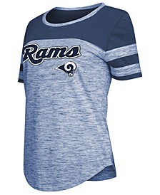 Women's Los Angeles Rams Space Dye T-Shirt