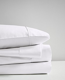 600 Thread Count Queen 4-Piece Cooling Cotton Sheet Set