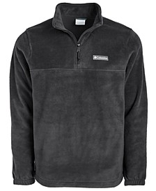 Men's Quarter-Zip Logo Graphic Coat