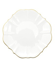 """Amelie Brushed Gold Rim 13"""" Charger Plate"""