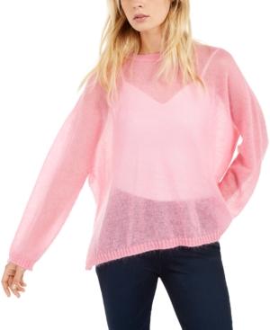 Weekend Max Mara Lightweight Sweater In Pink