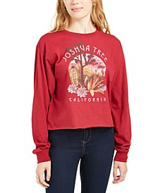 Juniors' Joshua Tree Graphic T-Shirt