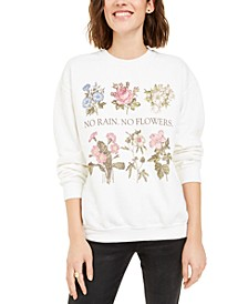 Flower Graphic Sweatshirt