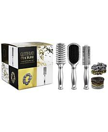 9-Pc. Glitterati Culture Hair Styling Set
