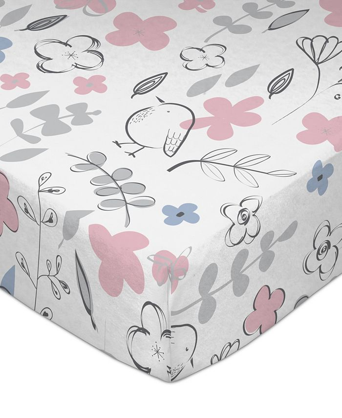 Lolli Living - Crib Fitted Sheet - Mazie