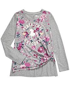 Big Girls Peace Love Unicorns T-Shirt, Created For Macy's