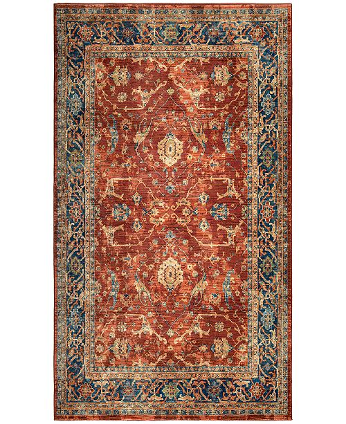 Palmetto Living Alexandria Ankara Red Area Rug Collection