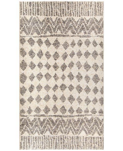 Palmetto Living Casablanca Tribal 02 Silver Tone Area Rug Collection