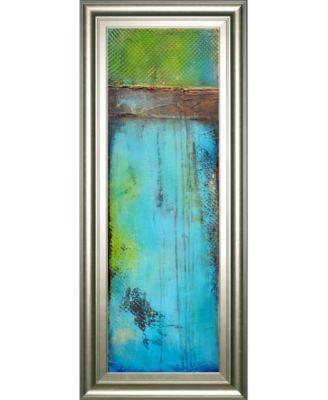"""Fisher Island Il by Erin Ashley Framed Print Wall Art - 18"""" x 42"""""""