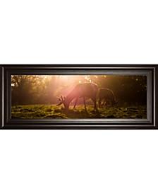 "Morning Haze by Joe Reynolds Framed Photo Print Wall Art - 18"" x 42"""
