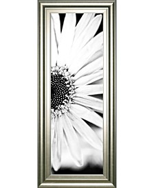"White Bloom 2 by Susan Bryant Framed Print Wall Art - 18"" x 42"""