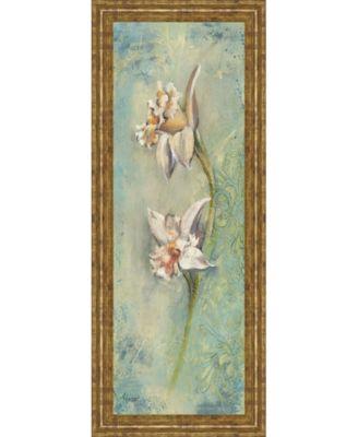 "Floral Xil by Lee Hazel Framed Print Wall Art - 18"" x 42"""
