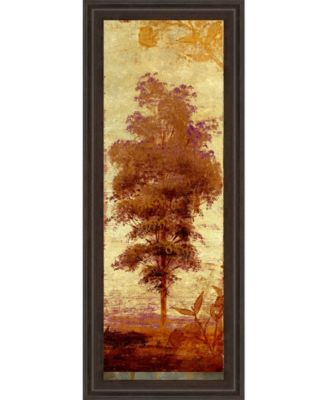 """Early Autumn Chill Il by Michael Marcon Framed Print Wall Art - 18"""" x 42"""""""
