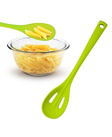 Silicone Folia Slotted Spoon