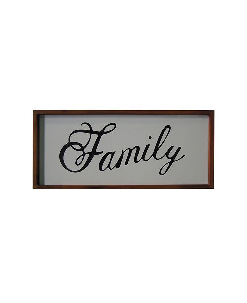 TX USA Corporation FAMILY word Wall Art