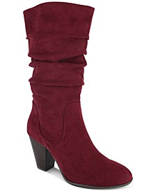 Oliana Memory-Foam Mid-Shaft Boots, Created for Macy's