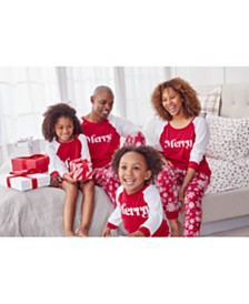 Matching Merry Family Pajamas, Created For Macy's