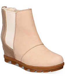 Women's Joan Of Arctic Wedge II Chelsea Lux Booties