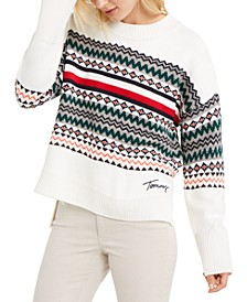 Fair Isle Drop-Shoulder Sweater, Created For Macy's