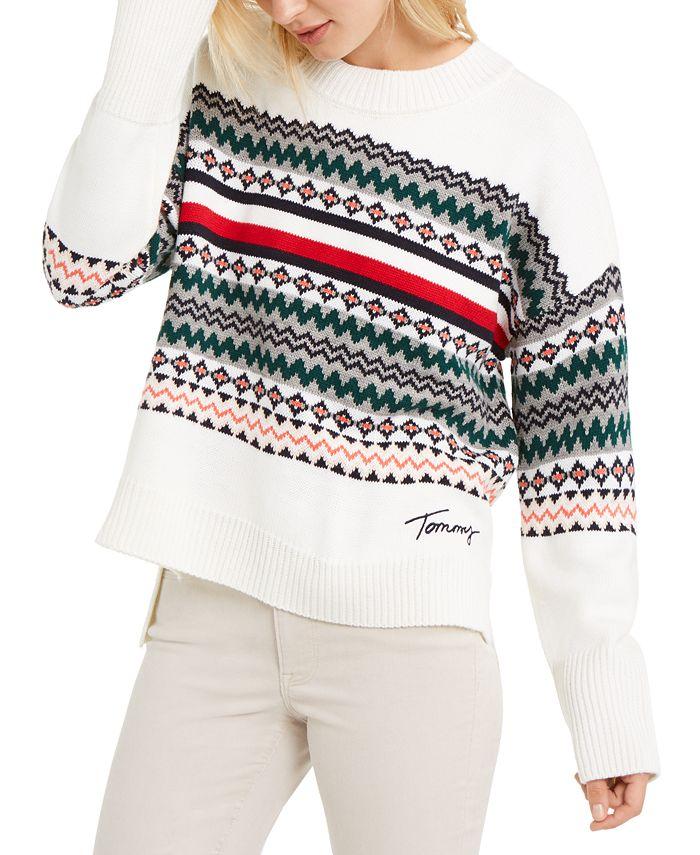 Tommy Hilfiger - Fair Isle Crewneck Sweater