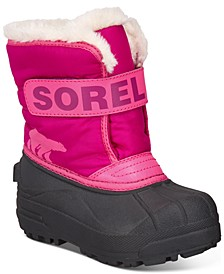 Little Girls Snow Commander Boots