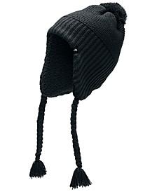 Women's Fleece-Lined Ear-Flap Beanie
