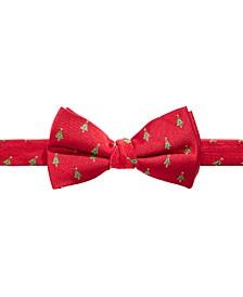 Big Boys Pre-Tied Holiday Tree Bow Tie