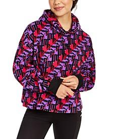 XTG Printed Fleece Hoodie