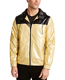 Men's Colorblocked Full-Zip Windbreaker, Created For Macy's