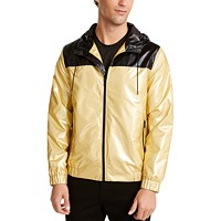 Alfani Men's Colorblocked Full-Zip Windbreaker