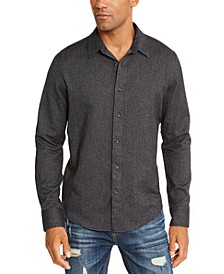 Men's Matt Regular-Fit Brushed Twill Shirt, Created For Macy's