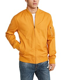 Men's Solid Ace Bomber Jacket, Created for Macy's