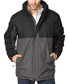 Men's Colorblocked Parka