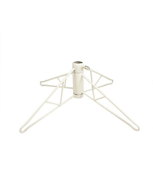 Northlight White Metal Christmas Tree Stand For 12' - 15' Artificial Trees
